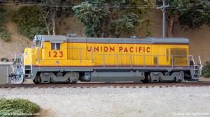 UP B23-7 123
