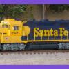 ATSF GP35u 2821