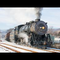 Steam Freight in Ridgeley