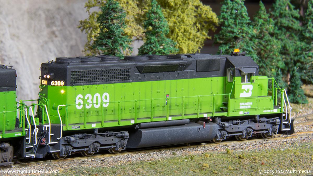BN SD40 6309