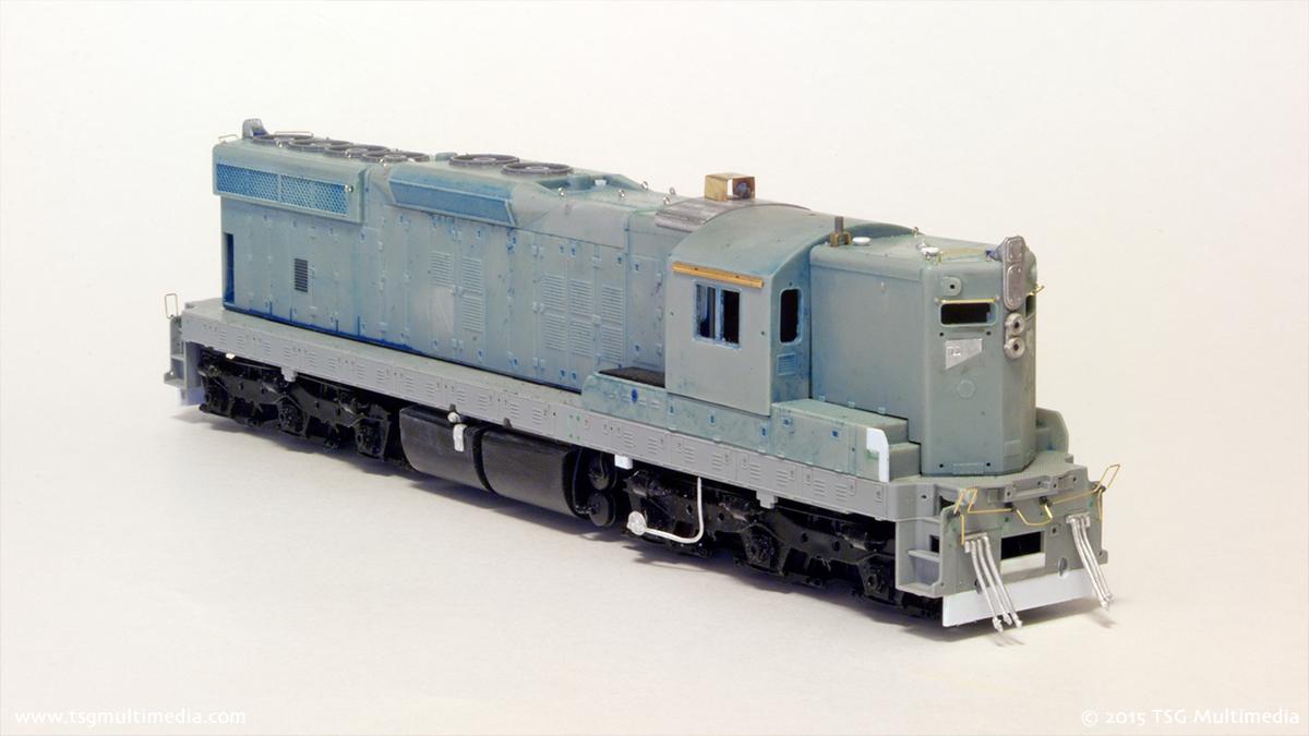 SP SD9E 4314 in progress