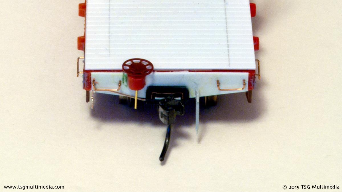 Tyco Log Cars - End Detail