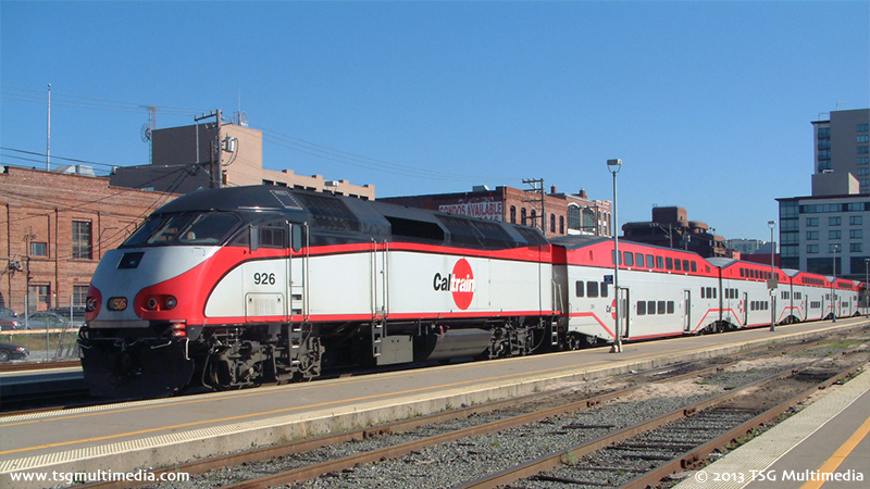 Caltrain MP36PH-3C 926, San Francisco, California, 2005