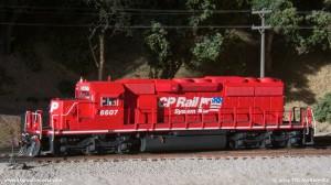 CP SD40-2 6607