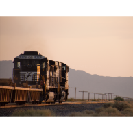 Norfolk Southern Desert Sunset