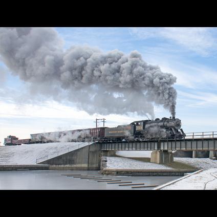 Canal Bridge Steam