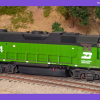 Burlington Northern GP38-2 2304