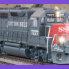 Cotton Belt GP40M-2 7277