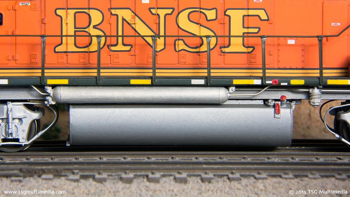 BNSF GP60M 134 - Fuel Tank Area