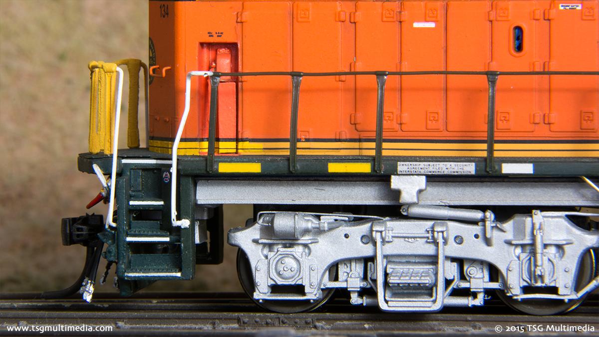 BNSF GP60M 134 - Rear Truck