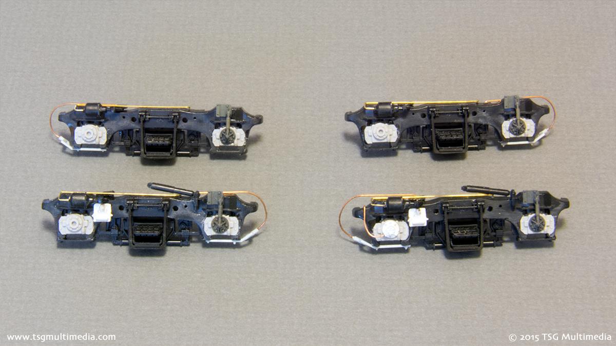ATSF GP50 3854 - Sideframes
