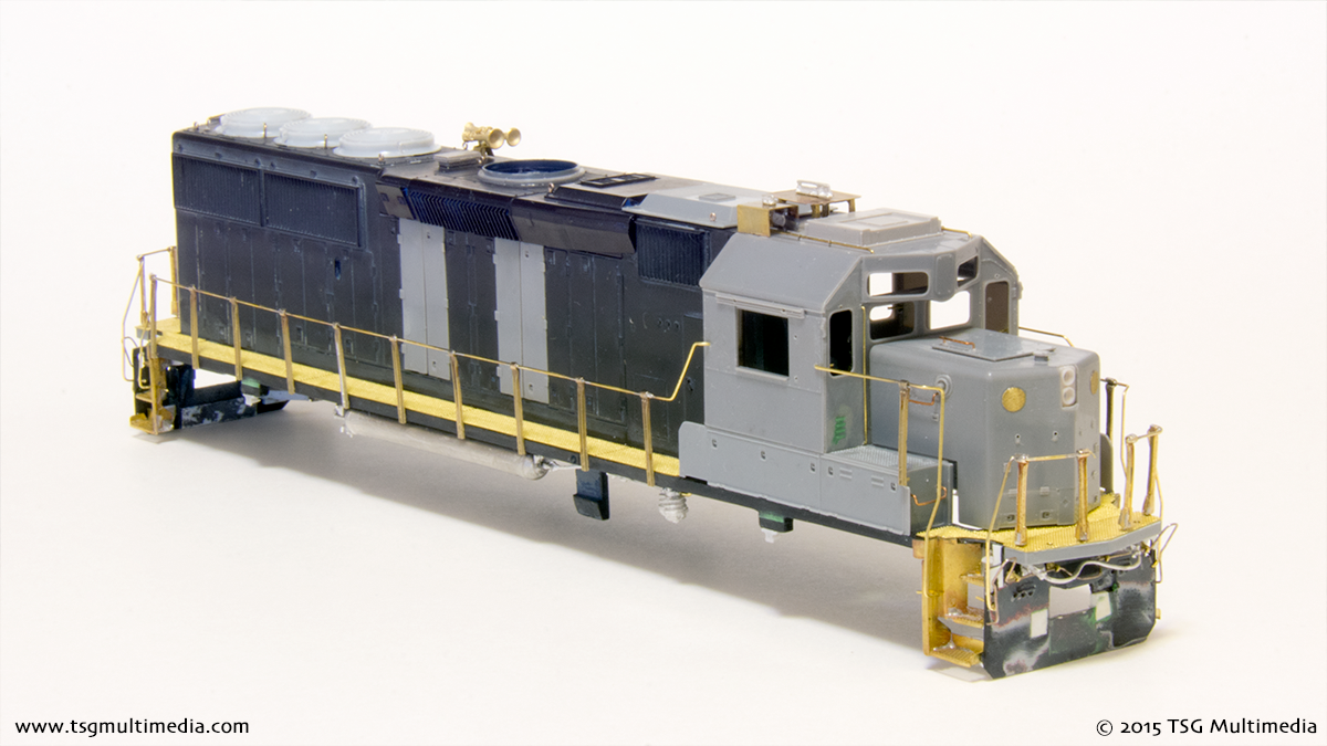 ATSF GP50 3854 - in progress