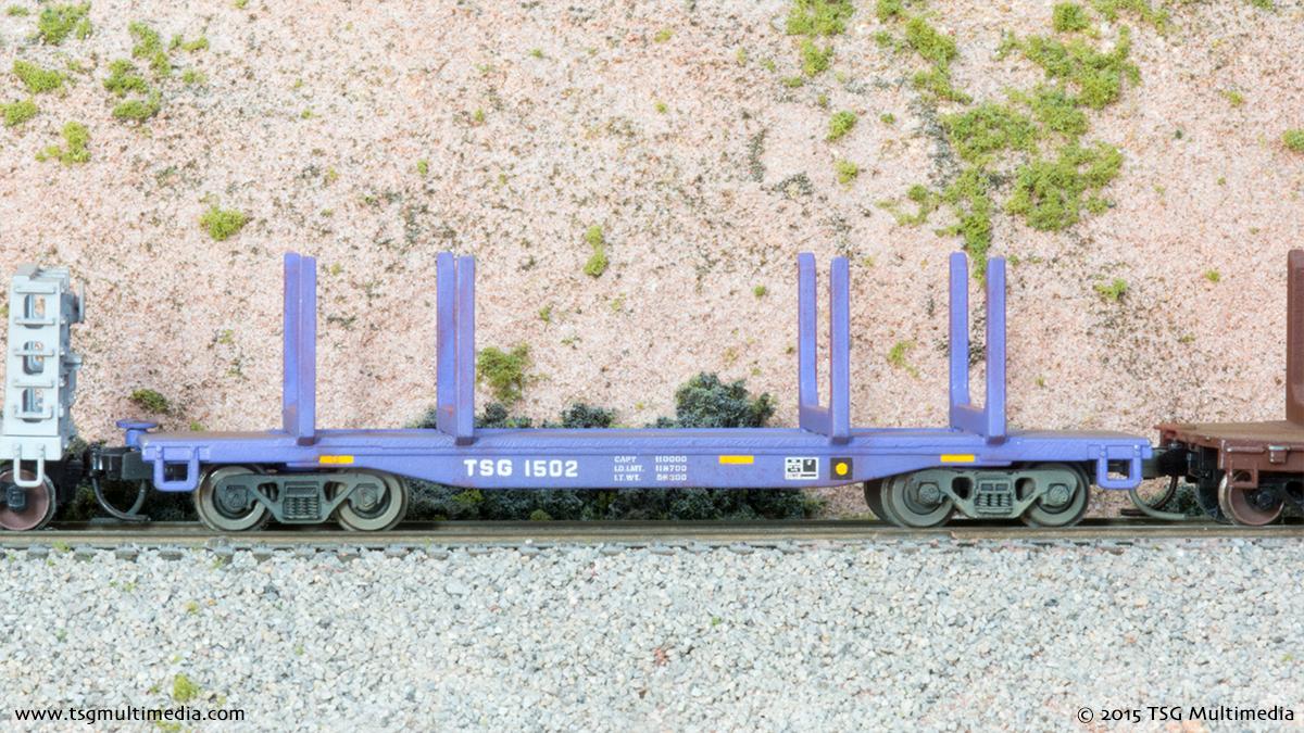 N Scale Log Cars - TSG 1502