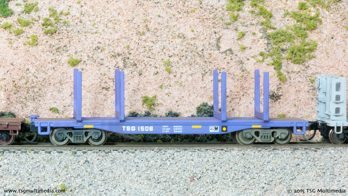 N Scale Log Cars - TSG 1506