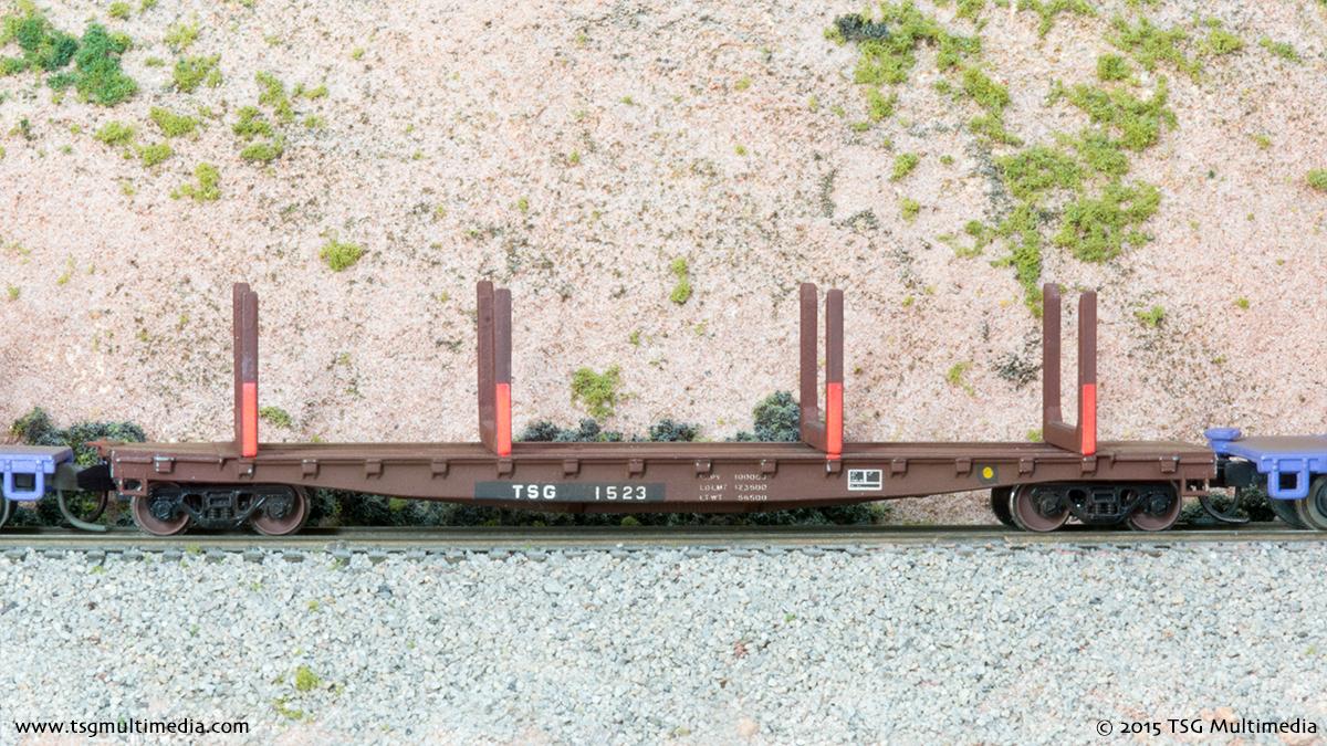 N Scale Log Cars - TSG 1523